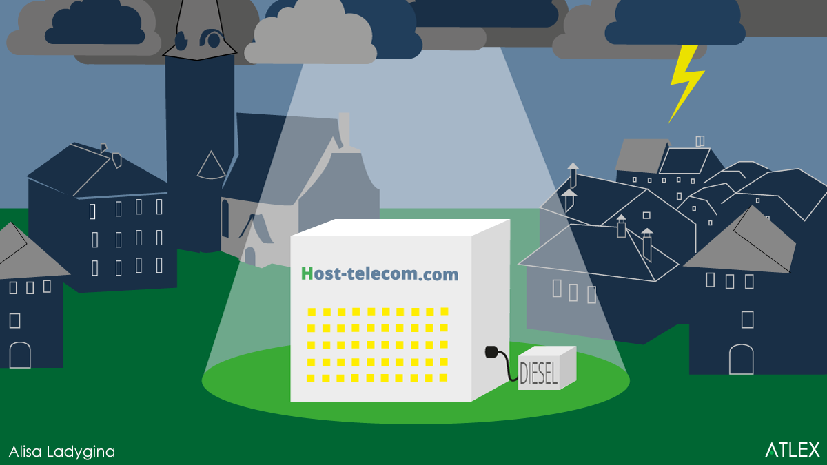 A dark and stormy night: How a Host-Telecom data center survived a killer storm