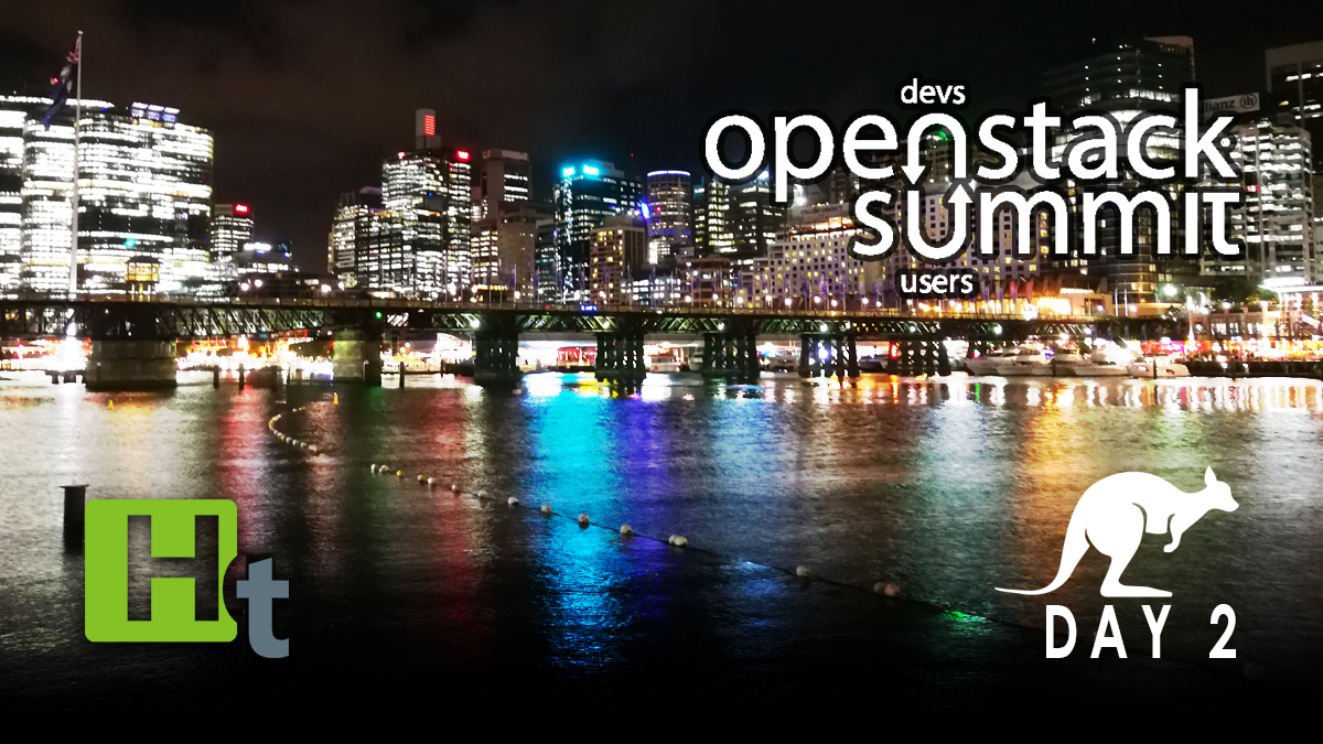 Download from Down Under: OpenStack Summit Sydney Day 2