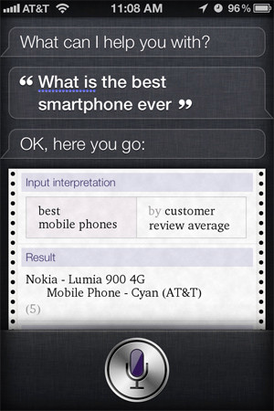 Siri and Nokia