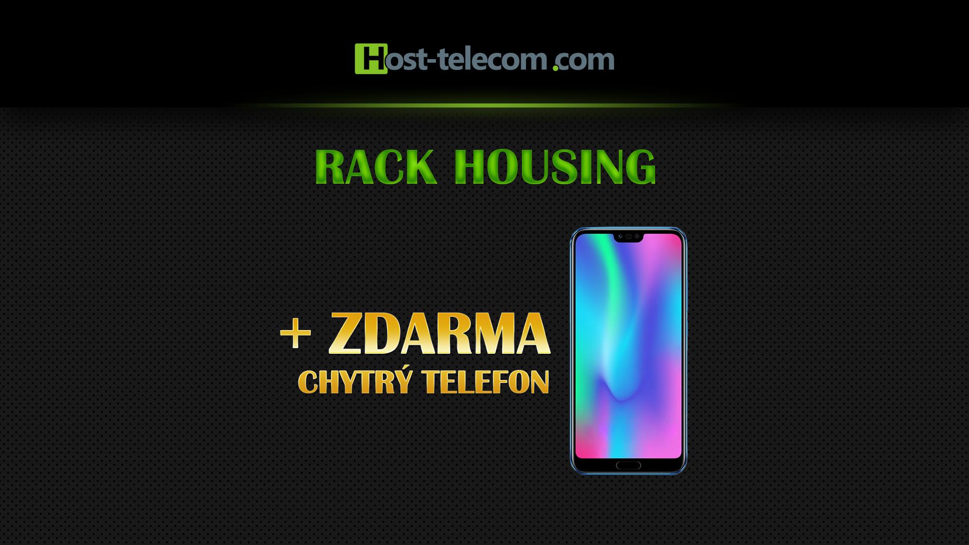 K pronájmu racku dostanete mobil úplně zdarma!