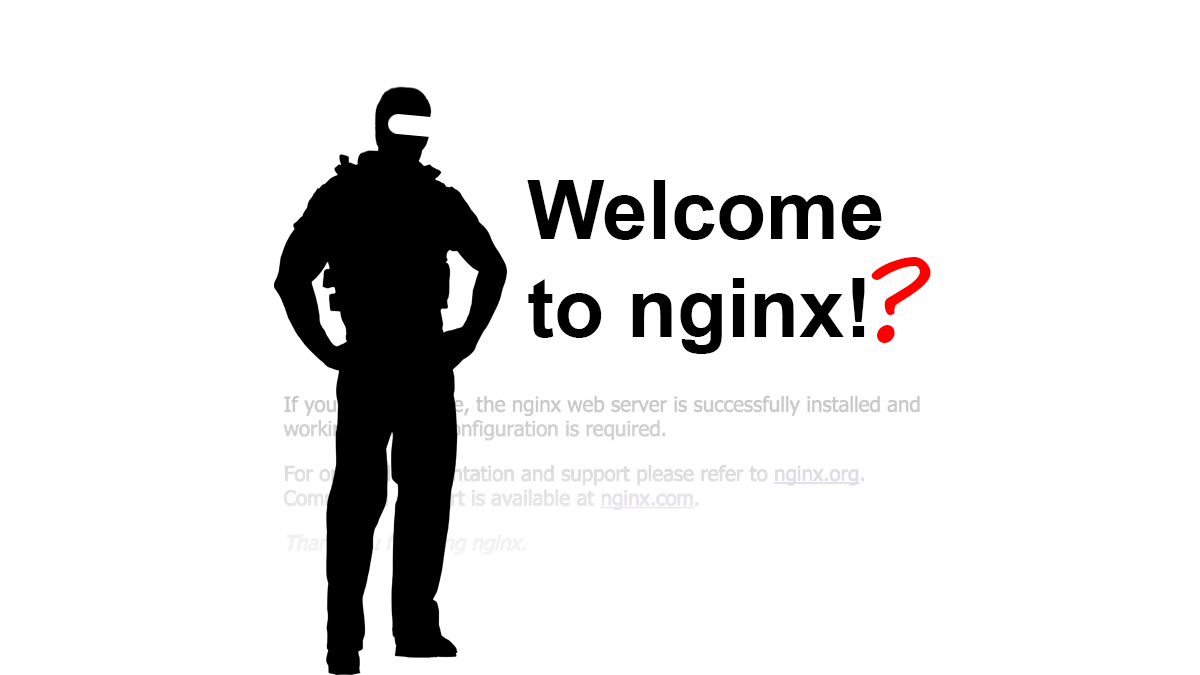 Now it's NGINX… You still do the development and store your data in Russia, do you?